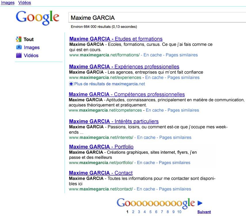 cv google